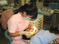 歯科診療 様子01