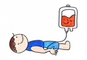輸血イラスト