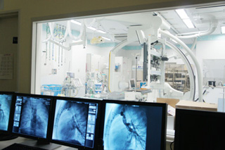 血管撮影検査:写真03 続いて説明文