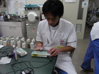 医療機器中央管理業務