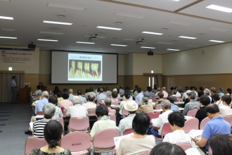 県民の日講演会写真